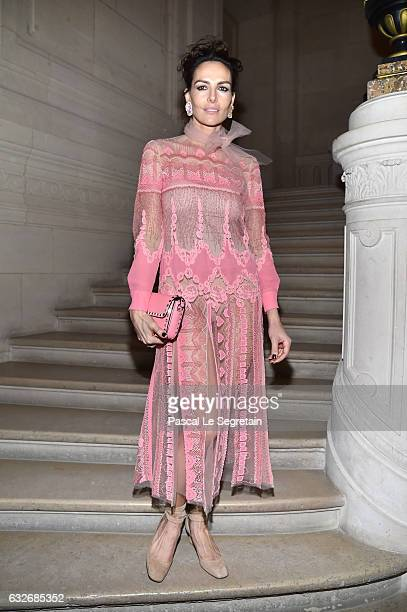 Adriana Abascal attends the Valentino Haute Couture Spring Summer 2017 show as part of Paris Fashion Week on January 25 2017 in Paris France