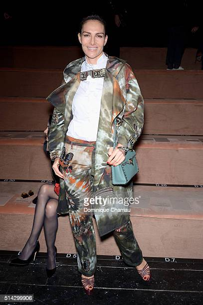 Adriana Abascal attends the Valentino show as part of the Paris Fashion Week Womenswear Fall/Winter 2016/2017 on March 8 2016 in Paris France