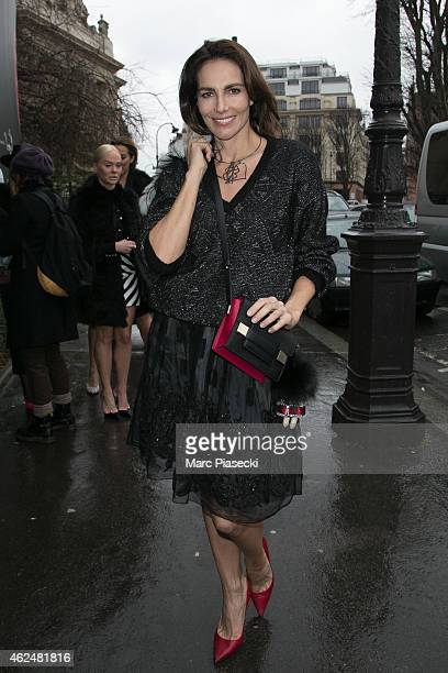 Adriana Abascal is seen on January 29 2015 in Paris France