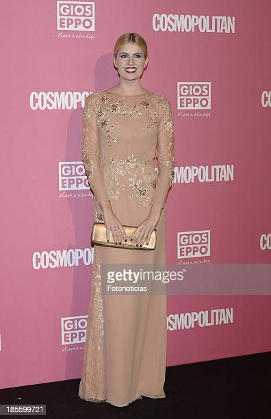 Adriana Abenia attends Cosmopolitan Fun Fearless Female Awards 2013 at the Ritz Hotel on October 22 2013 in Madrid Spain