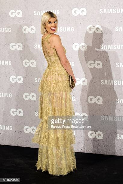 Adriana Abenia attends GQ 2016 Men of the Year Awards at Palace Hotel on November 3 2016 in Madrid Spain