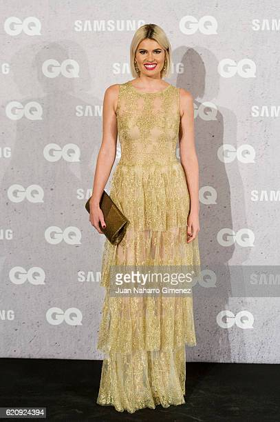 Adriana Abenia attends 'GQ Men Of The Year Awards 2016' photocall at Palace Hotel on November 3 2016 in Madrid Spain