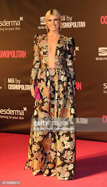 Adriana Abenia attends IX Cosmopolitan Fun Fearless Female Awards at La Riviera on October 18 2016 in Madrid Spain