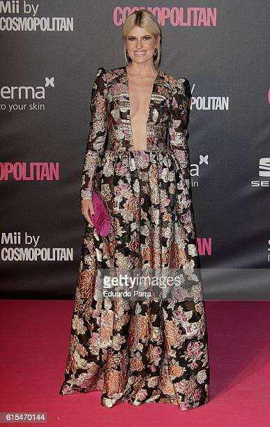 Adriana Abenia attends the 'Cosmopolitan Fun Fearless Female' awards 2016 at La Riviera Disco on October 18 2016 in Madrid Spain