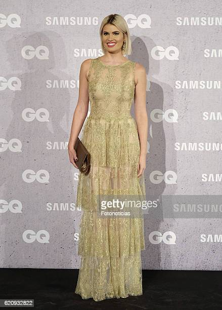 Adriana Abenia attends the GQ Men of the Year Awards at The Palace Hotel on November 3 2016 in Madrid Spain