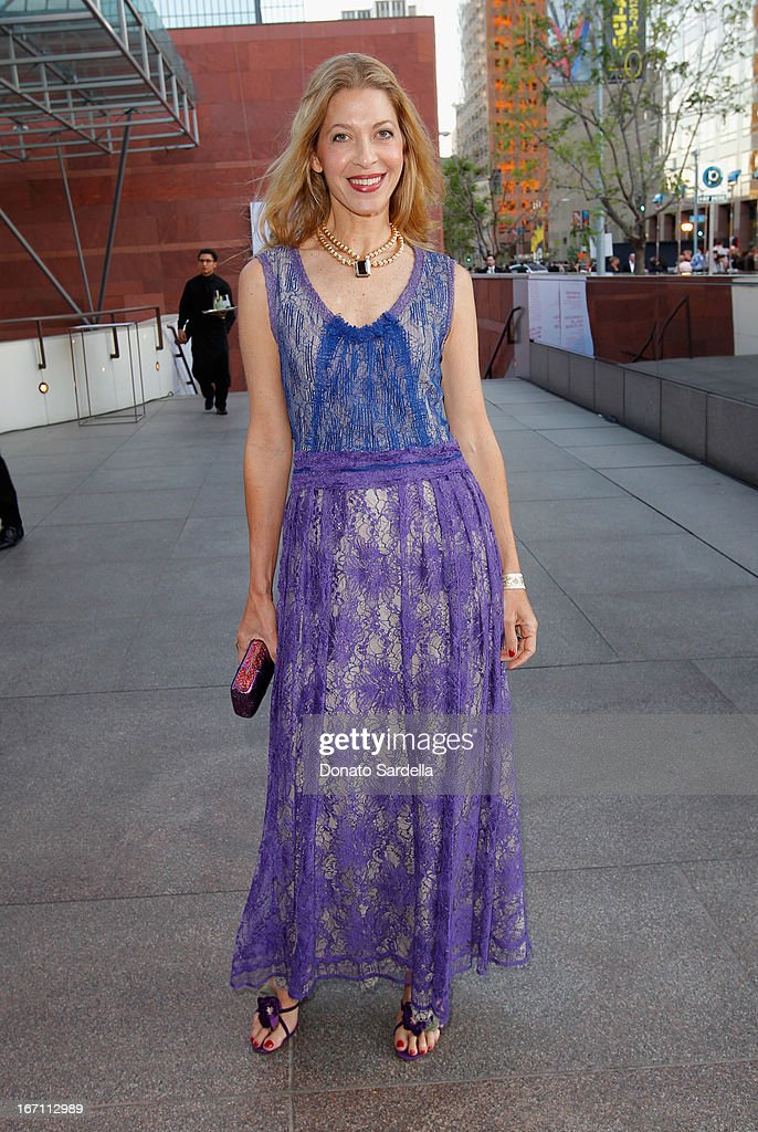 """Adriana Caras attends """"Yesssss!"""" MOCA Gala 2013, Celebrating the Opening of the Exhibition Urs Fischer, at MOCA Grand Avenue and The Geffen Contemporary on April 20, 2013 in Los Angeles, California."""