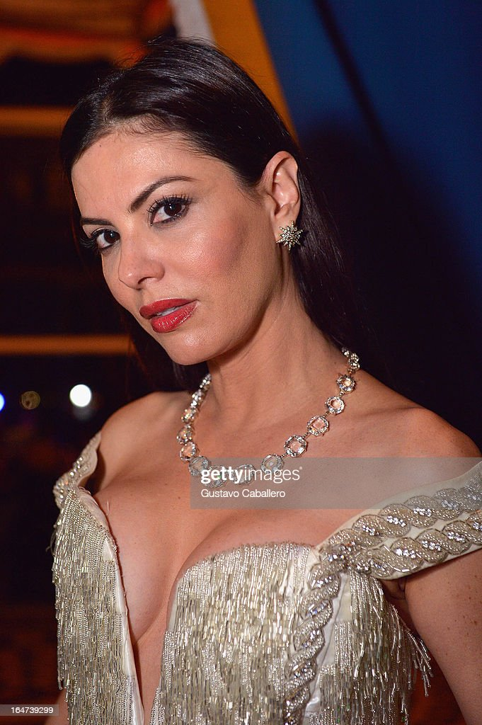 Adriana de Moura attends the II BrazilFoundation Gala Miami at Vizcaya Museum & Gardens on March 26, 2013 in Miami, Florida.