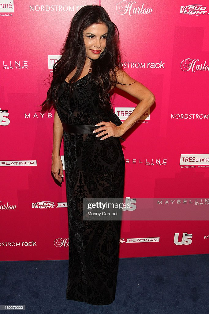 Adriana De Moura attends the Us Weekly's Most Stylish New Yorkers Party at Harlow on September 10, 2013 in New York City.
