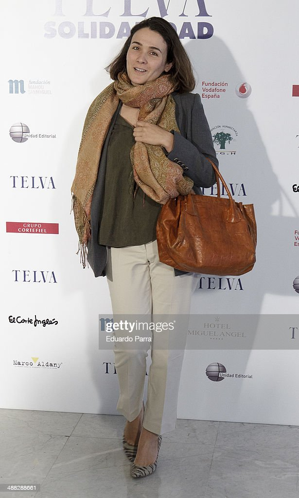 Adriana Dominguez attends the 'Telva solidarity awards' photocall at Miguel Angel hotel on May 5, 2014 in Madrid, Spain.
