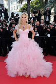Adriana Karembeu at the premiere of 'The Beaver' during the 64th Cannes International Film Festival