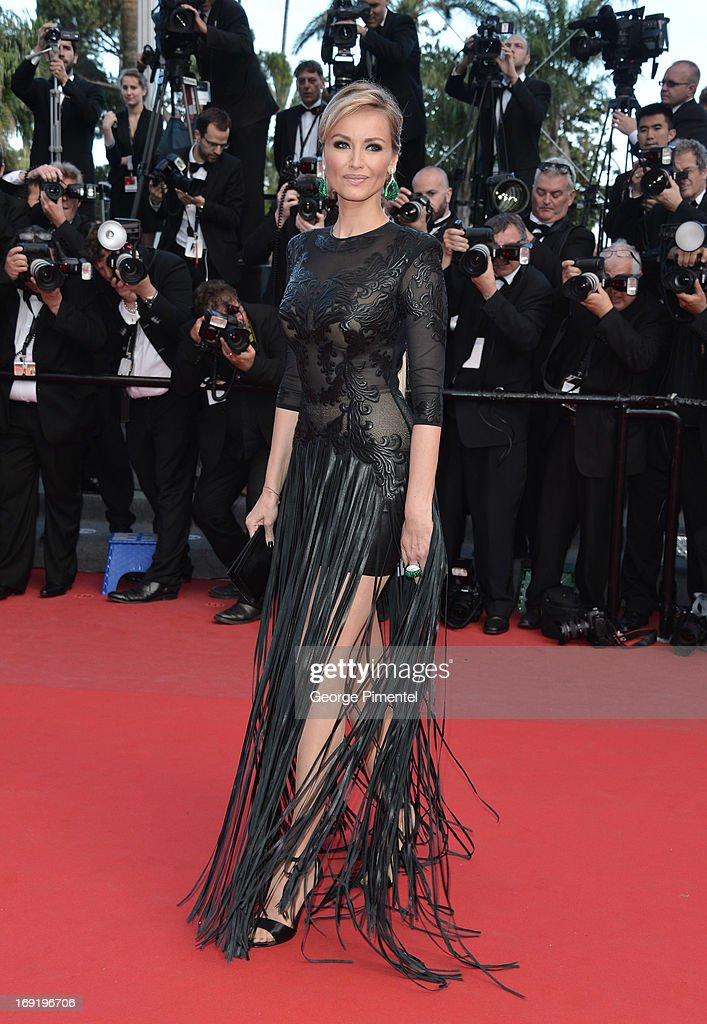 Adriana Karembeu attends the Premiere of 'Cleopatra' at The 66th Annual Cannes Film Festival on May 21, 2013 in Cannes, France.