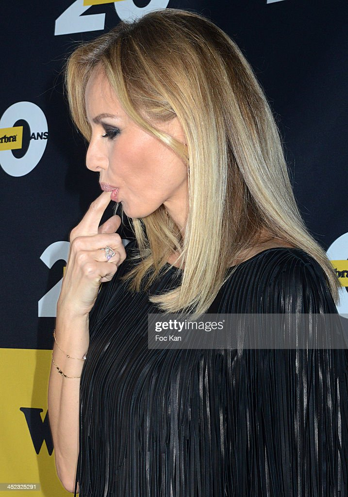 <a gi-track='captionPersonalityLinkClicked' href=/galleries/search?phrase=Adriana+Karembeu&family=editorial&specificpeople=207098 ng-click='$event.stopPropagation()'>Adriana Karembeu</a> attends the Wonderbra 2Oth anniversary party at Tres Honore Bar on November 27, 2013 in Paris, France.