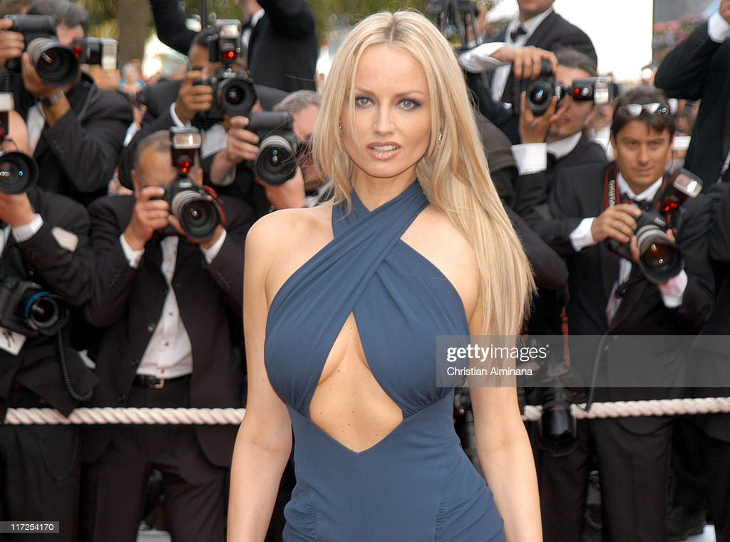 <a gi-track='captionPersonalityLinkClicked' href=/galleries/search?phrase=Adriana+Karembeu&family=editorial&specificpeople=207098 ng-click='$event.stopPropagation()'>Adriana Karembeu</a> during 2005 Cannes Film Festival - Where the Truth Lies Premiere at Palais des Festival in Cannes, France.