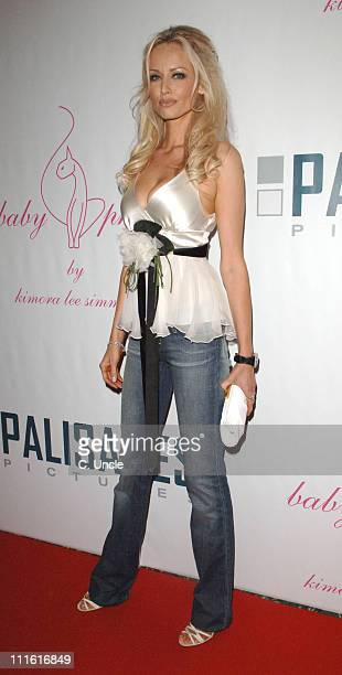 Adriana Karembeu during 2006 Cannes Film Festival Palisades Pictures and Baby Phat Salute Independent Film Under The Stars at Hotel du Cap in Cannes...
