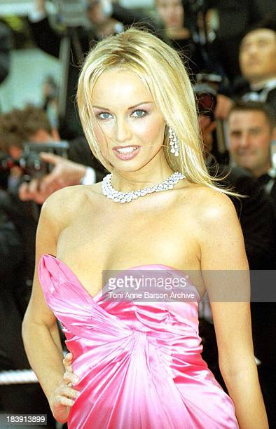 Adriana Karembeu during 53rd Cannes Film Festival The Red Carpet at Palais des Festivals in Cannes France