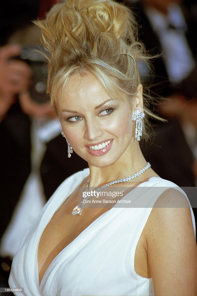 Adriana Karembeu during Cannes 1999 - File Photos at Palais des Festivals in Cannes, France.