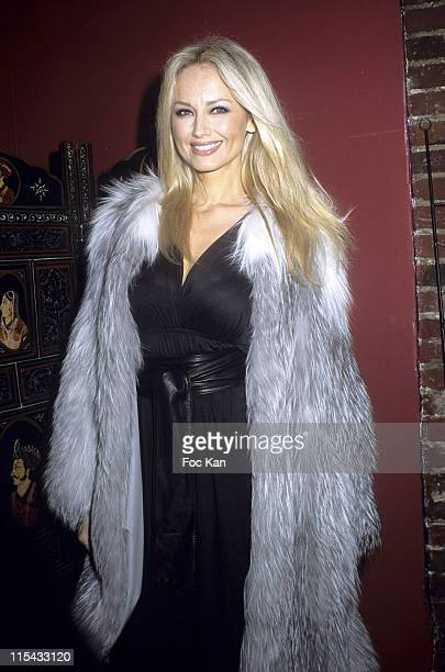 Adriana Karembeu during Top Model France 2006 Election Party at Salons du Louvre in Paris France
