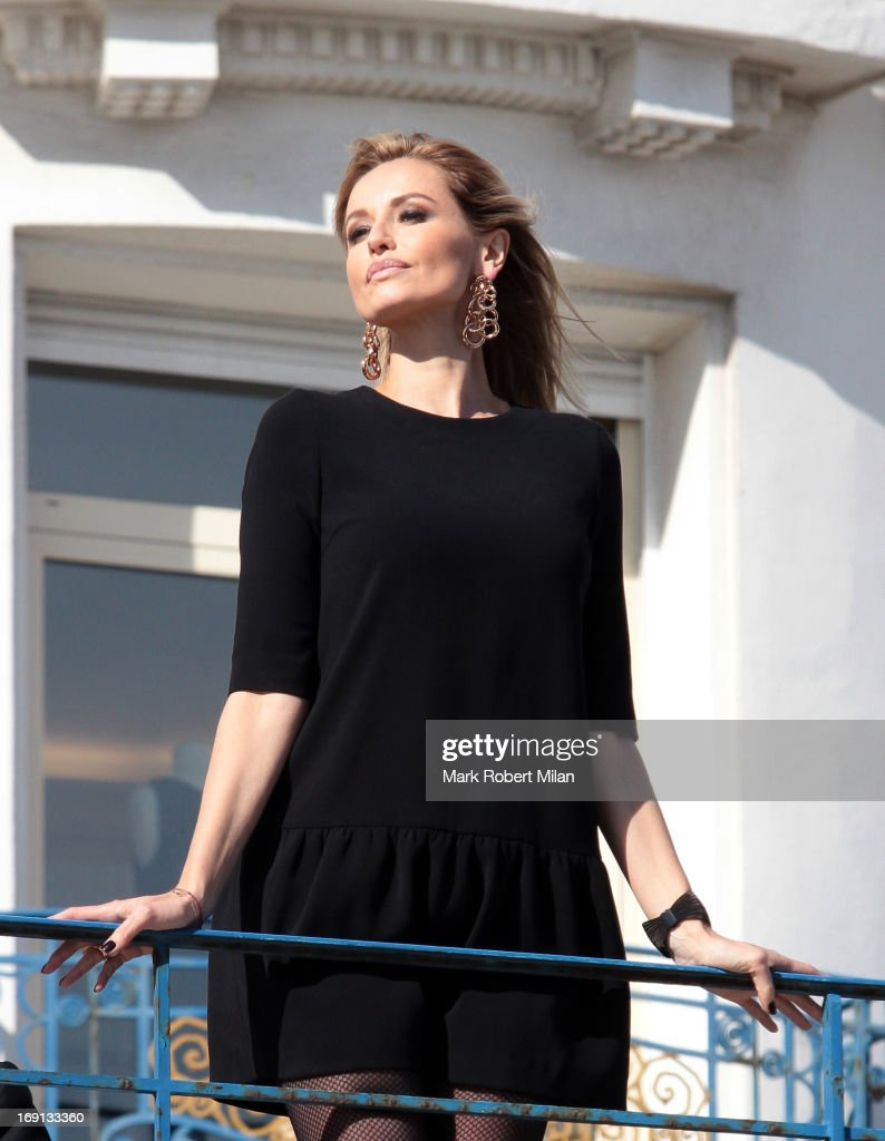 Adriana Karembeu sighted at the Martinez hotel during The 66th Annual Cannes Film Festival on May 20, 2013 in Cannes, France.