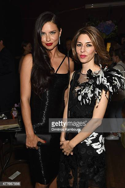 Adriana Lima and Sofia Coppola attend Marc Jacobs And Coty Celebrate DECADENCE on June 18 2015 in New York City