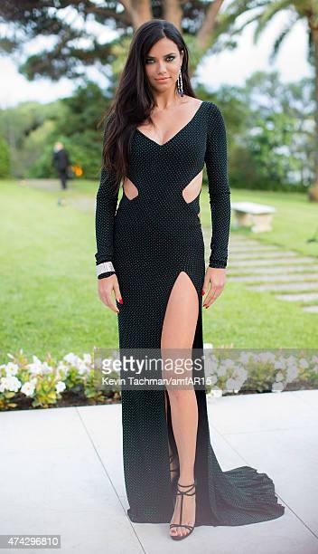 Adriana Lima arrives for the amfAR 22nd Annual Cinema Against AIDS Gala at Hotel du CapEdenRoc on May 21 2015 in Cap d'Antibes France