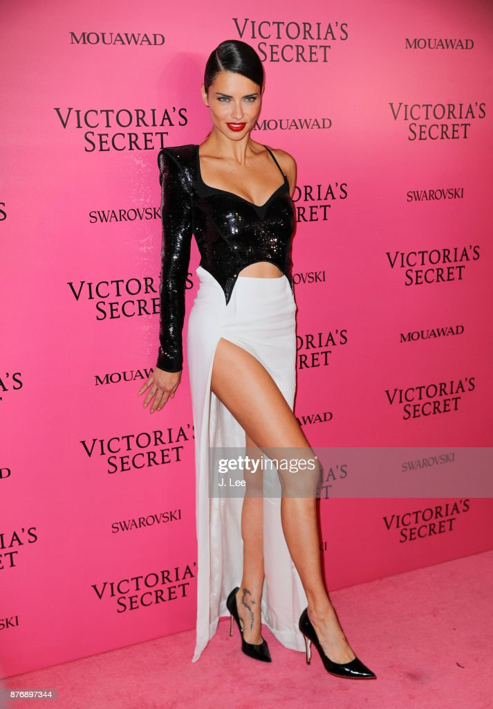 Adriana Lima at the 2017 Victoria's Secret Fashion show afterparty on November 20, 2017 in Shanghai, China.