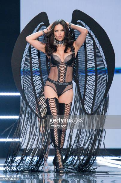 Adriana Lima attends 2017 Victoria's Secret Fashion Show In Shanghai Show at MercedesBenz Arena on November 20 2017 in Shanghai China