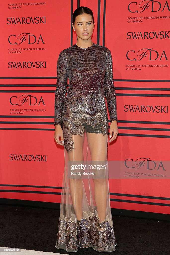<a gi-track='captionPersonalityLinkClicked' href=/galleries/search?phrase=Adriana+Lima&family=editorial&specificpeople=182444 ng-click='$event.stopPropagation()'>Adriana Lima</a> attends the 2013 CFDA Fashion Awardson June 3, 2013 in New York, United States.