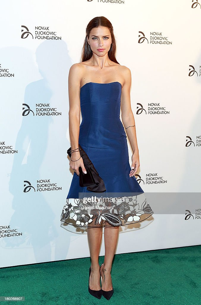 <a gi-track='captionPersonalityLinkClicked' href=/galleries/search?phrase=Adriana+Lima&family=editorial&specificpeople=182444 ng-click='$event.stopPropagation()'>Adriana Lima</a> attends the 2013 Novak Djokovic Dinner at Capitale on September 10, 2013 in New York City.