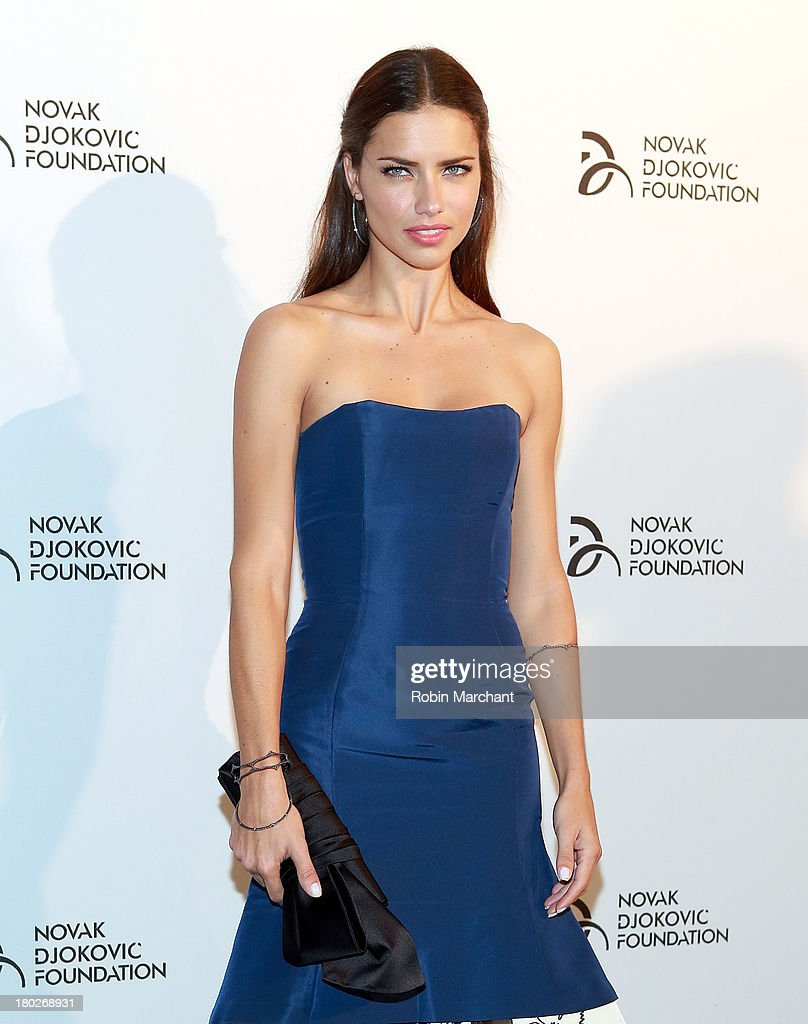 Adriana Lima attends the 2013 Novak Djokovic Dinner at Capitale on September 10, 2013 in New York City.