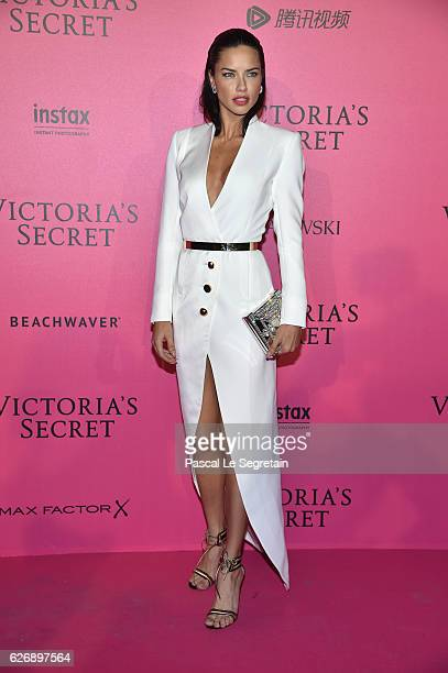 adriana Lima attends the 2016 Victoria's Secret Fashion Show after party on November 30 2016 in Paris France