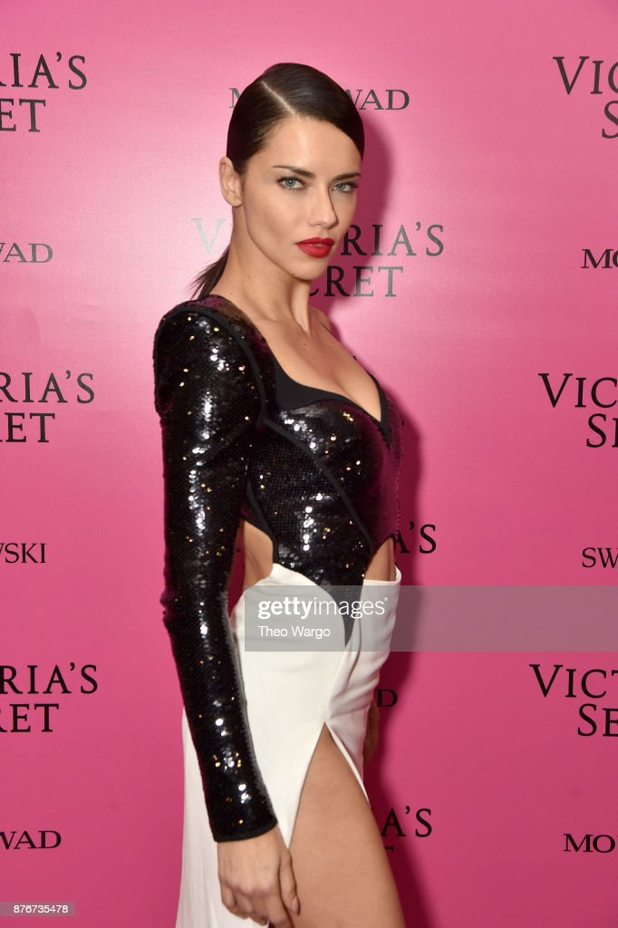Adriana Lima attends the 2017 Victoria's Secret Fashion Show In Shanghai After Party at Mercedes-Benz Arena on November 20, 2017 in Shanghai, China.