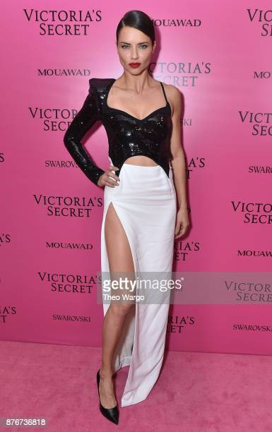 Adriana Lima attends the 2017 Victoria's Secret Fashion Show In Shanghai After Party at MercedesBenz Arena on November 20 2017 in Shanghai China
