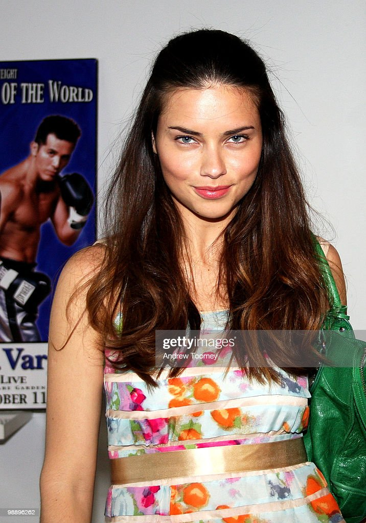Adriana Lima attends the 3rd Annual Aerospace Fight for Fitness Competition at the Aerospace High Performance Center on May 6, 2010 in New York City.