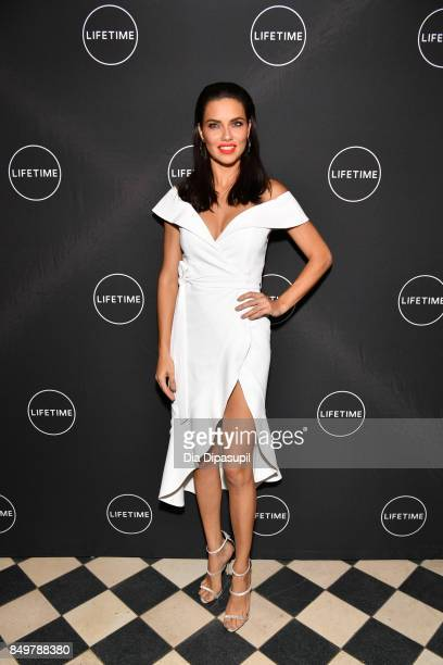 Adriana Lima attends the 'American Beauty Star' premiere at Gramercy Terrace at The Gramercy Park Hotel on September 19 2017 in New York City