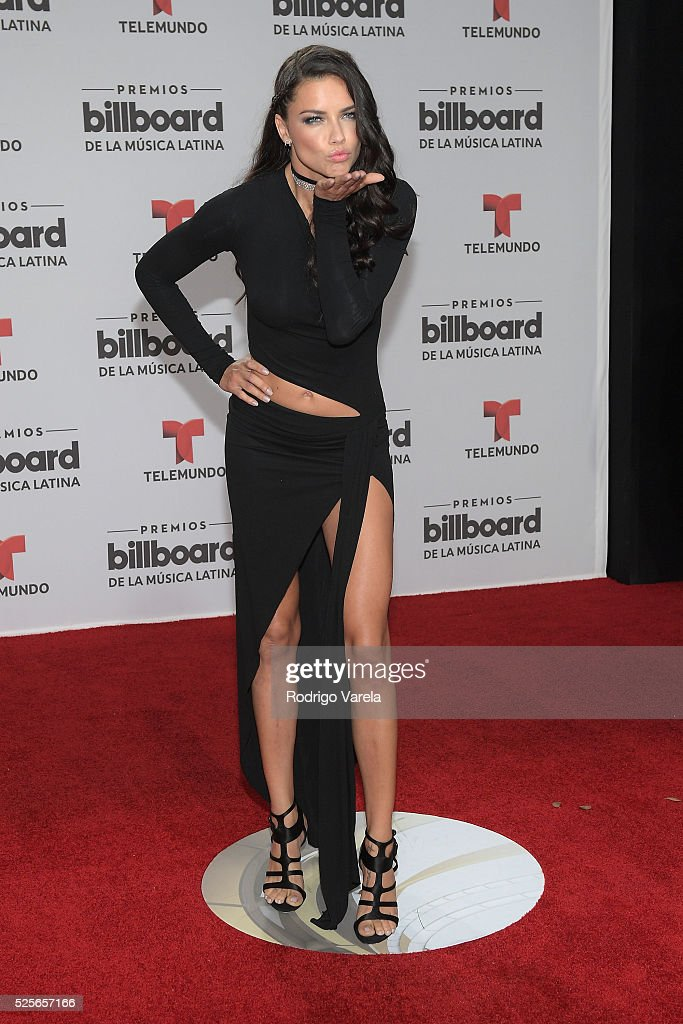 Adriana Lima attends the Billboard Latin Music Awards at Bank United Center on April 28, 2016 in Miami, Florida.
