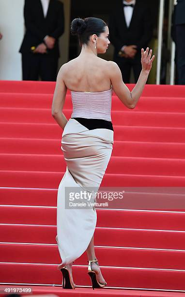 Adriana Lima attends 'The Homesman' Premiere at the 67th Annual Cannes Film Festival on May 18 2014 in Cannes France