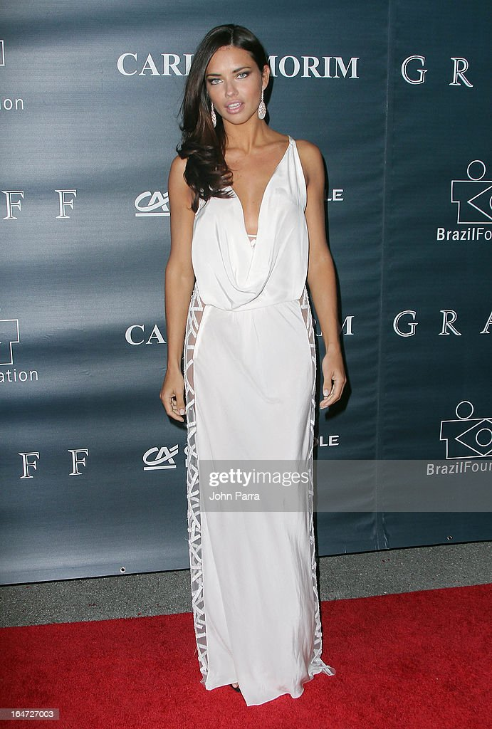 <a gi-track='captionPersonalityLinkClicked' href=/galleries/search?phrase=Adriana+Lima&family=editorial&specificpeople=182444 ng-click='$event.stopPropagation()'>Adriana Lima</a> attends the II BrazilFoundation Gala Miami at Vizcaya Museum & Gardens on March 26, 2013 in Miami, Florida.