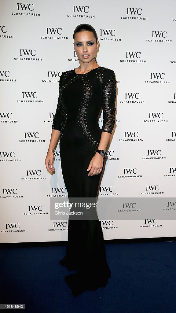 <a gi-track='captionPersonalityLinkClicked' href=/galleries/search?phrase=Adriana+Lima&family=editorial&specificpeople=182444 ng-click='$event.stopPropagation()'>Adriana Lima</a> attends the IWC Gala Dinner during the Salon International de la Haute Horlogerie (SIHH) 2015 at the Palexpo on January 20, 2015 in Geneva, Switzerland.