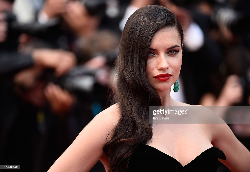 <a gi-track='captionPersonalityLinkClicked' href=/galleries/search?phrase=Adriana+Lima&family=editorial&specificpeople=182444 ng-click='$event.stopPropagation()'>Adriana Lima</a> attends the Premiere of 'Sicario' during the 68th annual Cannes Film Festival on May 19, 2015 in Cannes, France.