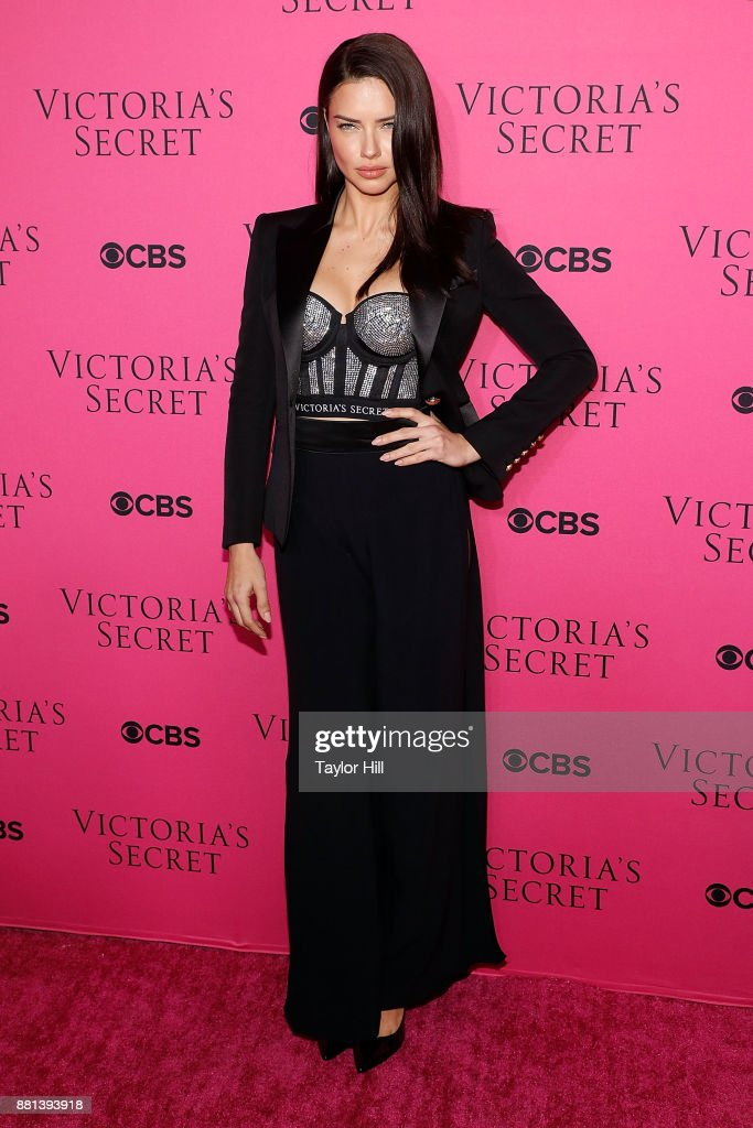 Adriana Lima attends the Victoria's Secret Viewing Party Pink Carpet celebrating the 2017 Victoria's Secret Fashion Show in Shanghai at Spring Studios on November 28, 2017 in New York City.
