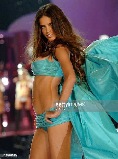 Adriana Lima during 10th Victoria's Secret Fashion Show Runway at The New York State Armory in New York City New York United States