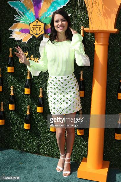 Adriana Lima is seen at the Veuve Clicquot Third Annual Clicquot Carnaval Supporting The Perez Art Museum Miami at Museum Park on March 4 2017 in...