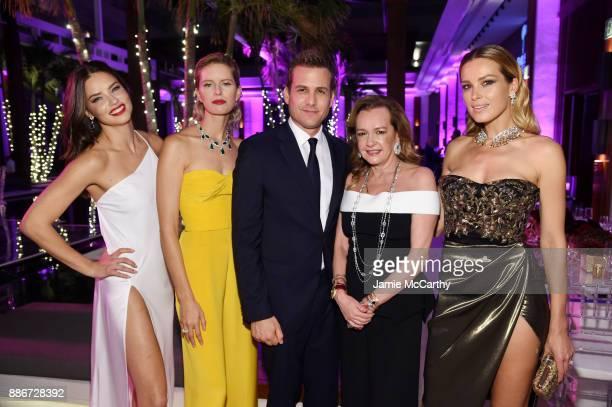 Adriana Lima Karolina Kurkova Gabriel Macht President of Chopard Caroline Scheufele and Petra Nemcova attend Creatures Of The Night LateNight Soiree...
