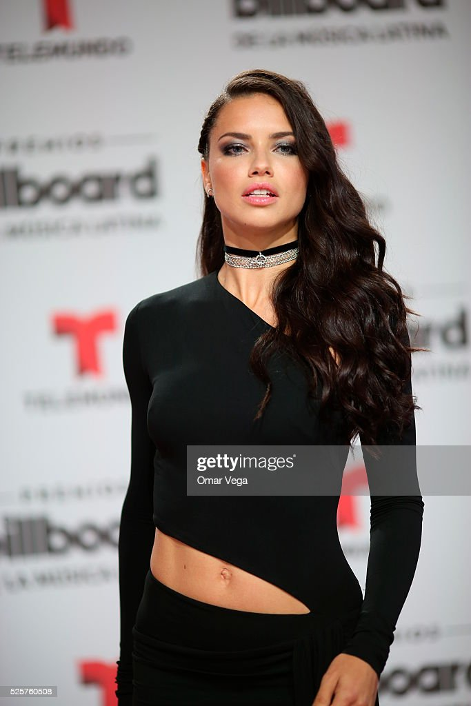 <a gi-track='captionPersonalityLinkClicked' href=/galleries/search?phrase=Adriana+Lima&family=editorial&specificpeople=182444 ng-click='$event.stopPropagation()'>Adriana Lima</a> poses during the red carpet of Billboard Latin Music Awards 2016 at Bank United Center on April 28, 2016 in Miami, United States.