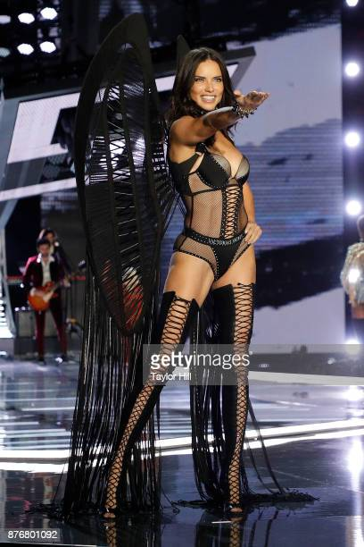 Adriana Lima walks the runway during the 2017 Victoria's Secret Fashion Show at MercedesBenz Arena on November 20 2017 in Shanghai China