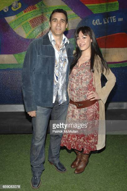 Adriana Paul and Alexandria Tonelli attend Paper Magazine Presents The 12th Annual Beautiful People Party at MyHouse on April 15 2009 in Los Angeles...