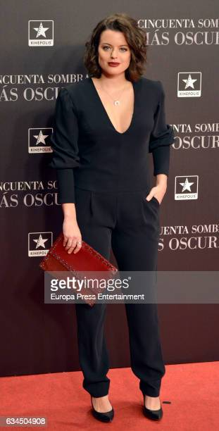 Adriana Torrebejano attend 'Fifty Shades Darker' premiere at Kinepolis cinema on February 8 2017 in Madrid Spain