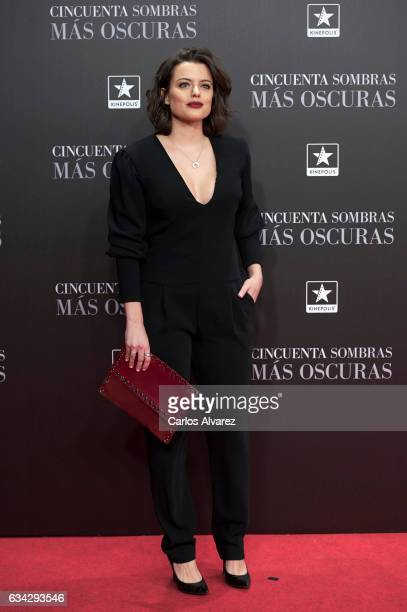 Adriana Torrebejano attends 'Fifty Shades Darker' premiere at the Kinepolis cinema on February 8 2017 in Madrid Spain