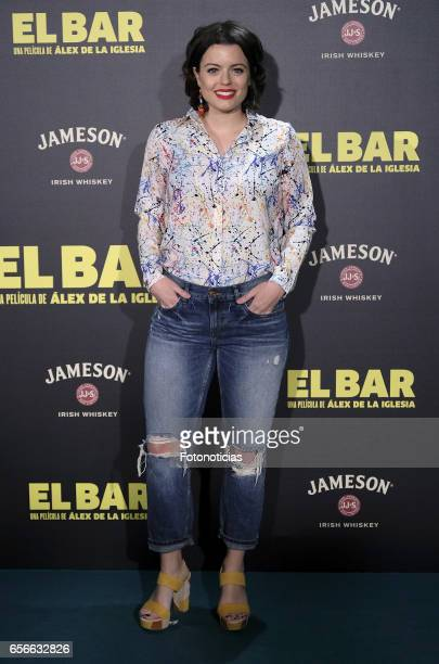 Adriana Torrebejano attends the 'El Bar' premiere at Callao cinema on March 22 2017 in Madrid Spain