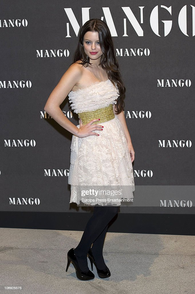 Adriana Torrebejano attends the launch of Mango new spring/summer 2011 collection at the Palacio de Cibeles on November 16, 2010 in Madrid, Spain.